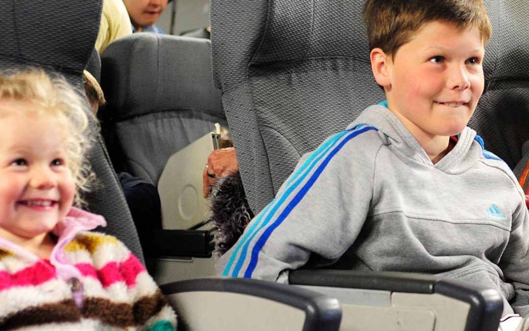 Tips For Air Travel With Your Toddlers